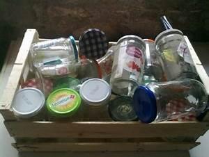 Bricolage Avec Objets De Récupération : recyclage objet r cupe objet donne lot de bocaux en verre r cup rer colombies 12 ~ Nature-et-papiers.com Idées de Décoration