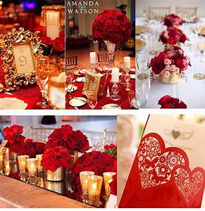 red gold white wedding decor moved permanently gold and With wedding decoration red and gold