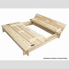 Sandkasten Aus Holz Und Kunststoff  Bei Edingershopsde