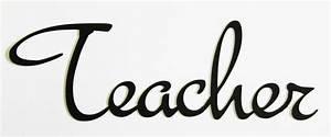 Word Cutout Teacher