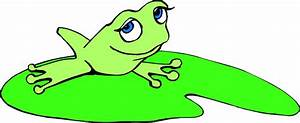 Cartoon Frogs On Lily Pads - ClipArt Best