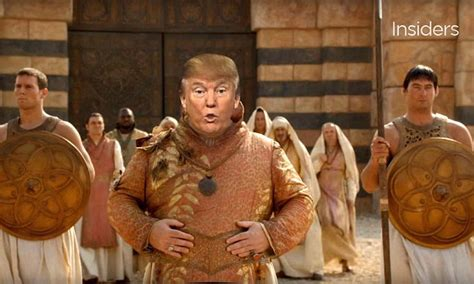 donald trump mashup  game  thrones reveals