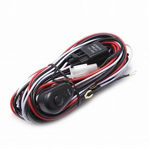 Control 2pcs Light 2 5m Switch Wiring Harness For Off Road
