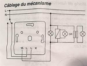 Branchement Variateur Legrand : branchement variateur lumi re odace avec un poussoir ~ Melissatoandfro.com Idées de Décoration