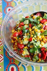 Corn-Avocado-Tomato-Salad