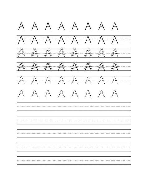 fontsteachers handwriting worksheet maker dots