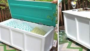 77 DIY Bench Ideas – Storage, Pallet, Garden, Cushion - Rilane