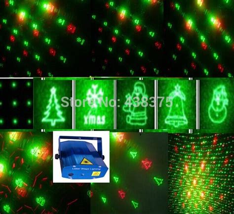 new 2015 christmas laser light dj projector snowflakes