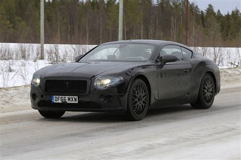 2019 Bentley Continental Gt Latest Spy Shots, Less Camo