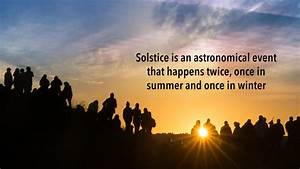 Summer Solstice 2019  All You Need To Know About Longest