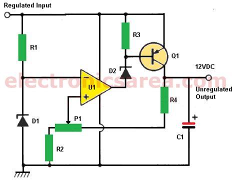 power supply  zener   op amp