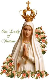 Image result for our lady of fatima clip art free