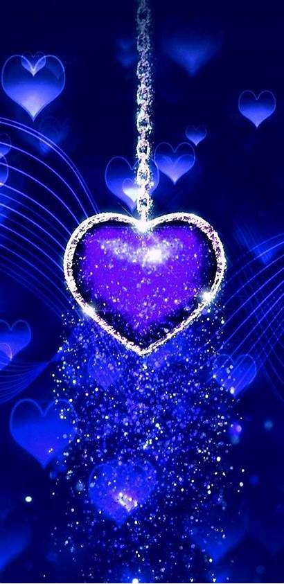 Glitter Phone Heart Hintergrundbilder Wallpapers Handy Nette