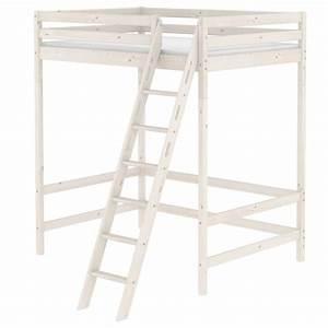 Hochbett 140x200 Weiß : flexa classic hochbett mezzanine wei 90 10746 2 01 835 ~ Indierocktalk.com Haus und Dekorationen