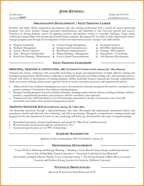 fitness instructor resume sle with professional courses