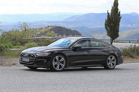 2019 Audi S7 Sportback Spied During High-altitude Testing