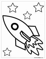 Rocket Ship Printable Coloring Preschool Space Outline Sheet Drawing Easy Sheets Preschoolers Toddler Archives Clipartmag Printables Boys Disimpan Dari Napisy sketch template
