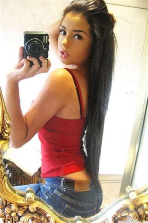 Hot Girl In Mirror Selfie Edw Eisai Pinterest Girls