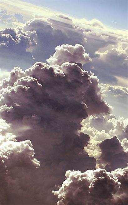 Clouds Android Cloud Iphone Above Wallpapers Aesthetic