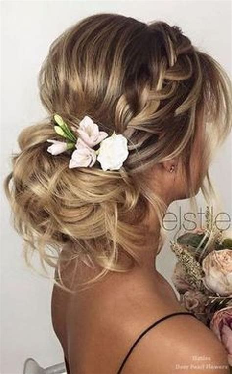 ideas  easy wedding hairstyles  pinterest