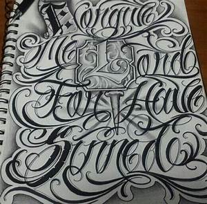 Chicano Lettering | lettering | Pinterest | Chicano ...
