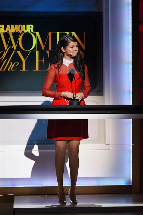 selena gomez  glamour women   year awards