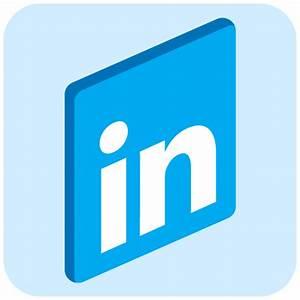 Linkedin Icon | Connecting Iconset | Fast Icon Design