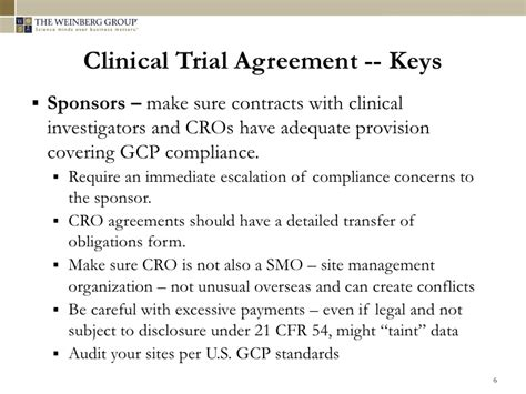 Clinical Trial Contract Template by Regulatory Challenges In Executing Clinical Trials Globally