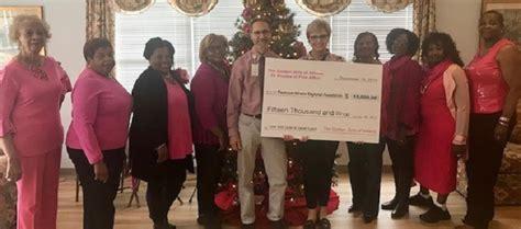 Golden Girls Of Athens Donates 15000 To Piedmont Athens