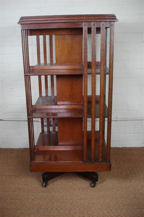 Revolving Bookcase by Oak Revolving Bookcase 331690