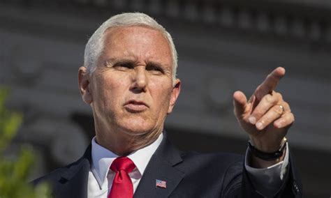 mike pence spend  time   knees