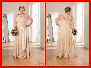 hot sale 2016 sexy lace appliques long wedding dress plus With champagne plus size wedding dresses