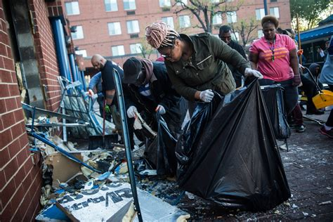 Baltimore beholds the damage as Governor Hogan pledges to