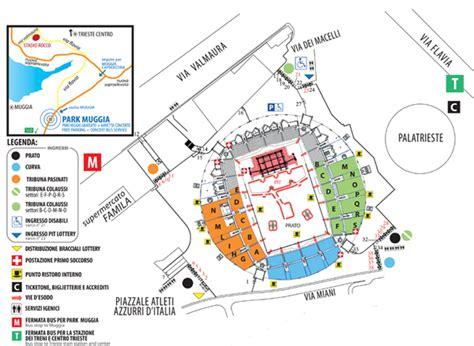 Ingresso Tribuna Monte Mario by Autobus Per Concerti Sito Ufficiale Eventi In