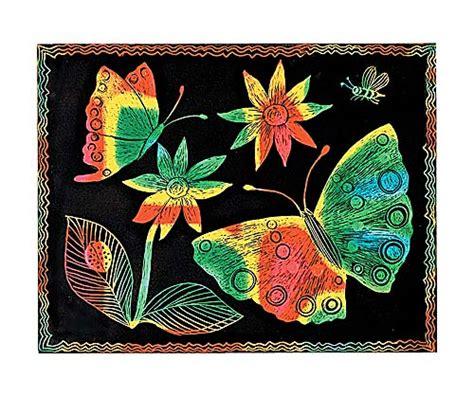 scratch art paper multicolor  sheets  arrivals