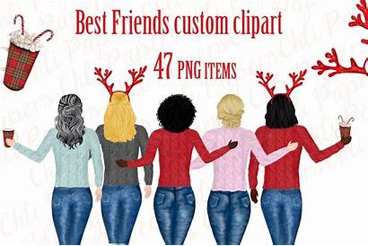 Clipart Christmas Holiday Friend Illustrations Designer Grinch