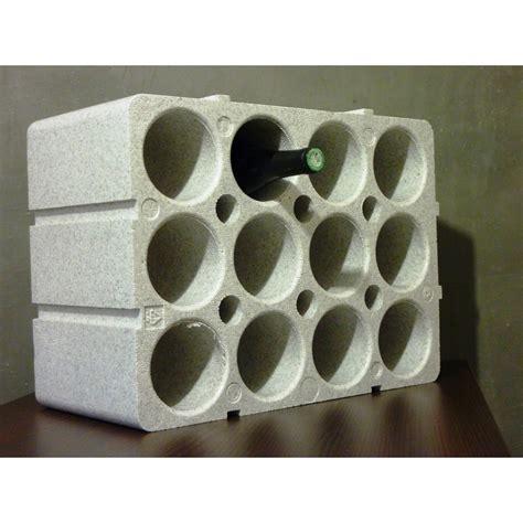 casier  bouteilles  places en polystyrene casier