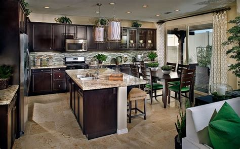 kitchen cabinets chino ca large island enhances a contemporary kitchen offering