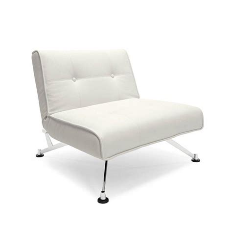 innovation living fauteuil lit design clubber blanc