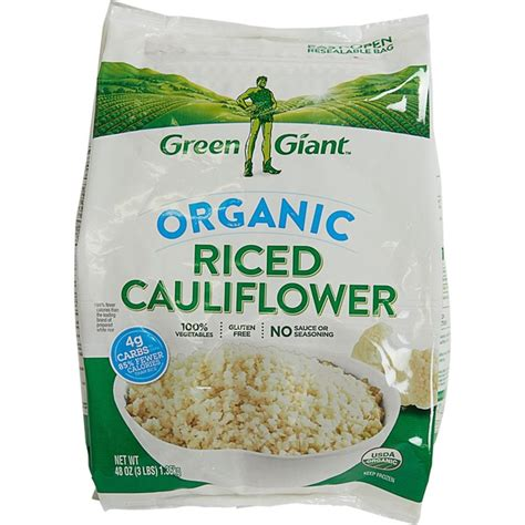Green Giant Organic Riced Cauliflower (48 oz) from Costco ...
