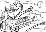 Limousines Coloring Pages sketch template