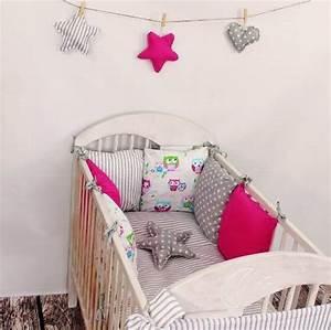 Baby Bettset Mädchen : baby bettw sche design8 nestchen bettset 100x135 f r ~ Watch28wear.com Haus und Dekorationen