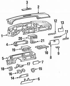 Chevrolet Caprice Fuse Box Cover  1991