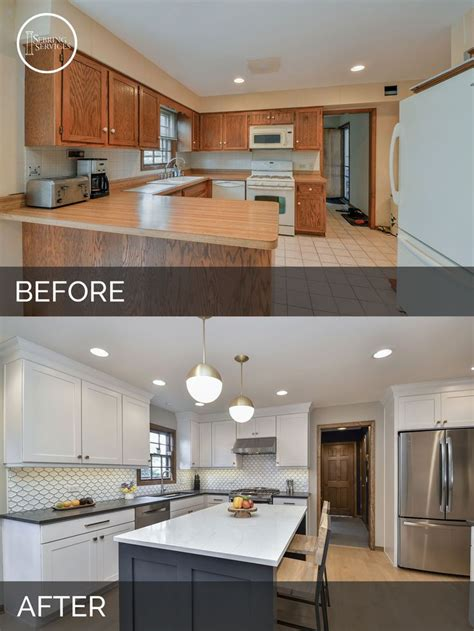 Kitchen Before And After by Best 25 Before After Kitchen Ideas On
