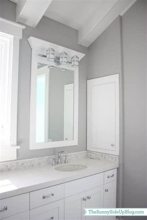 organic white quartz transitional bathroom frazee