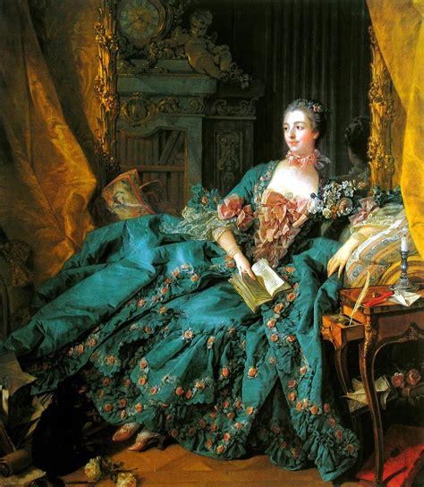 portrait of marquise de pompadour portrait of madame de pompadour 1756 detail fran 231 ois boucher on canvas boucher