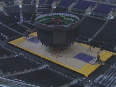 video cool time lapse video   staples center playoff