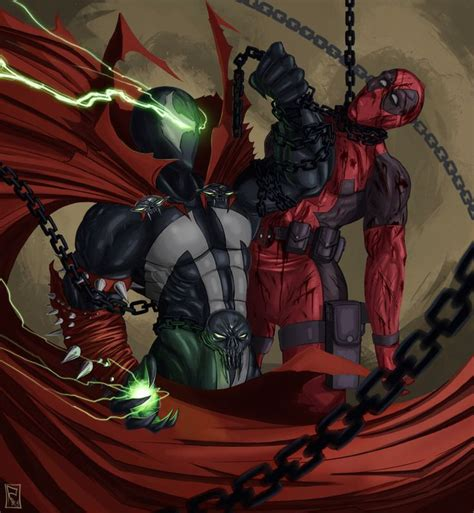 All This Deadpool Post And All I Could Think Of Was Spawn