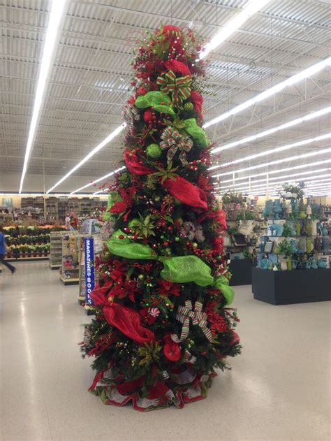 decorated christmas tree hobby lobby christmas pinterest