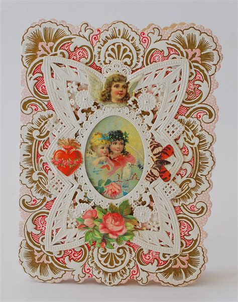 silver quill antiques  gifts antique valentine cards